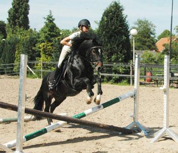 24-5-09 Frodo en Josine sprong