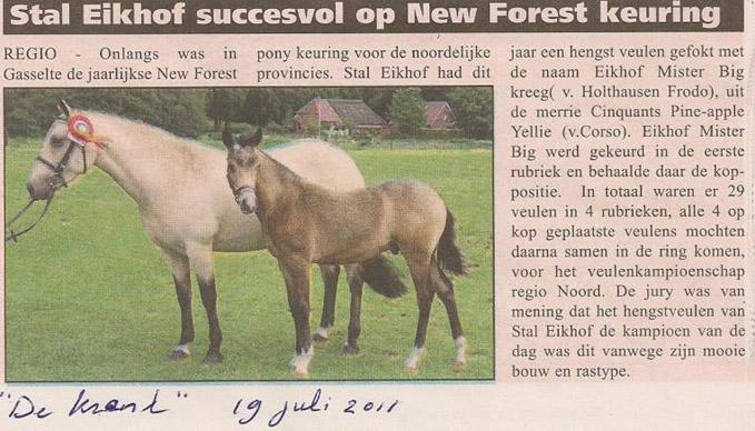 artikel Eikhof Mister Big 19-7-11