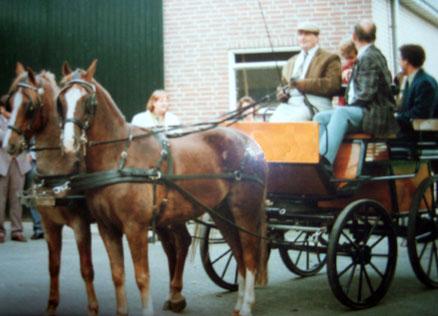 Finrod vroeger voor de wagen